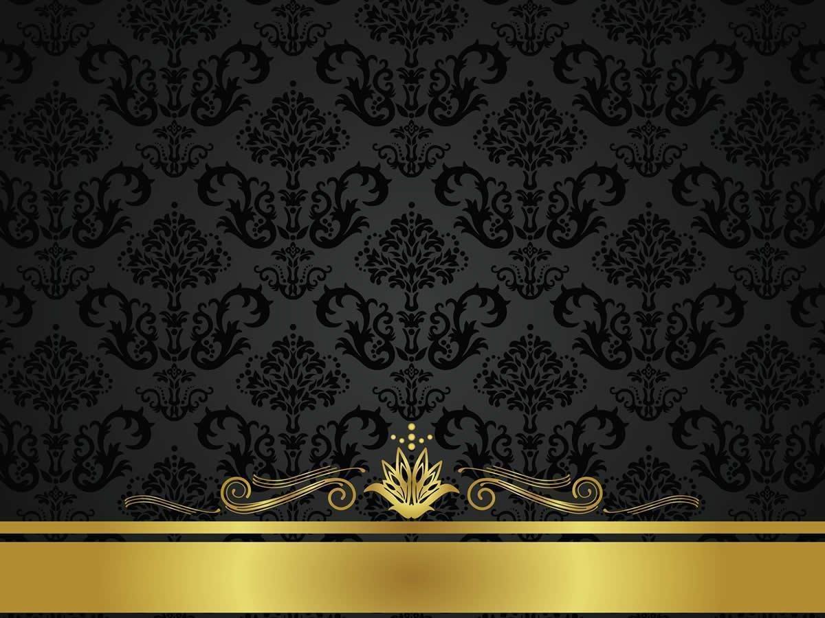 Gold And Black Backgrounds