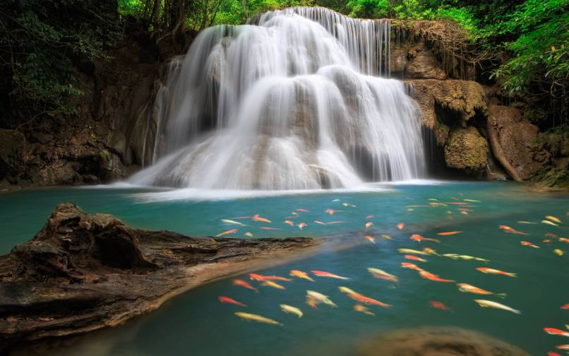 pictures of waterfalls for desktop backgrounds wallpapersimages org