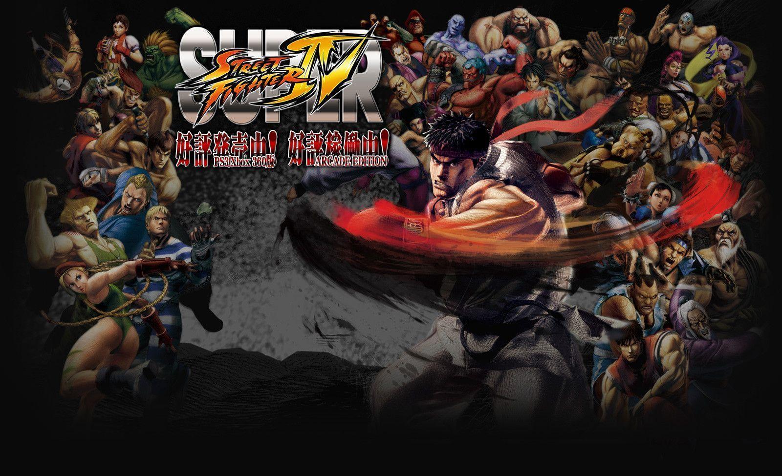 Super Street Fighter 4 Wallpapers  Wallpaper Cave