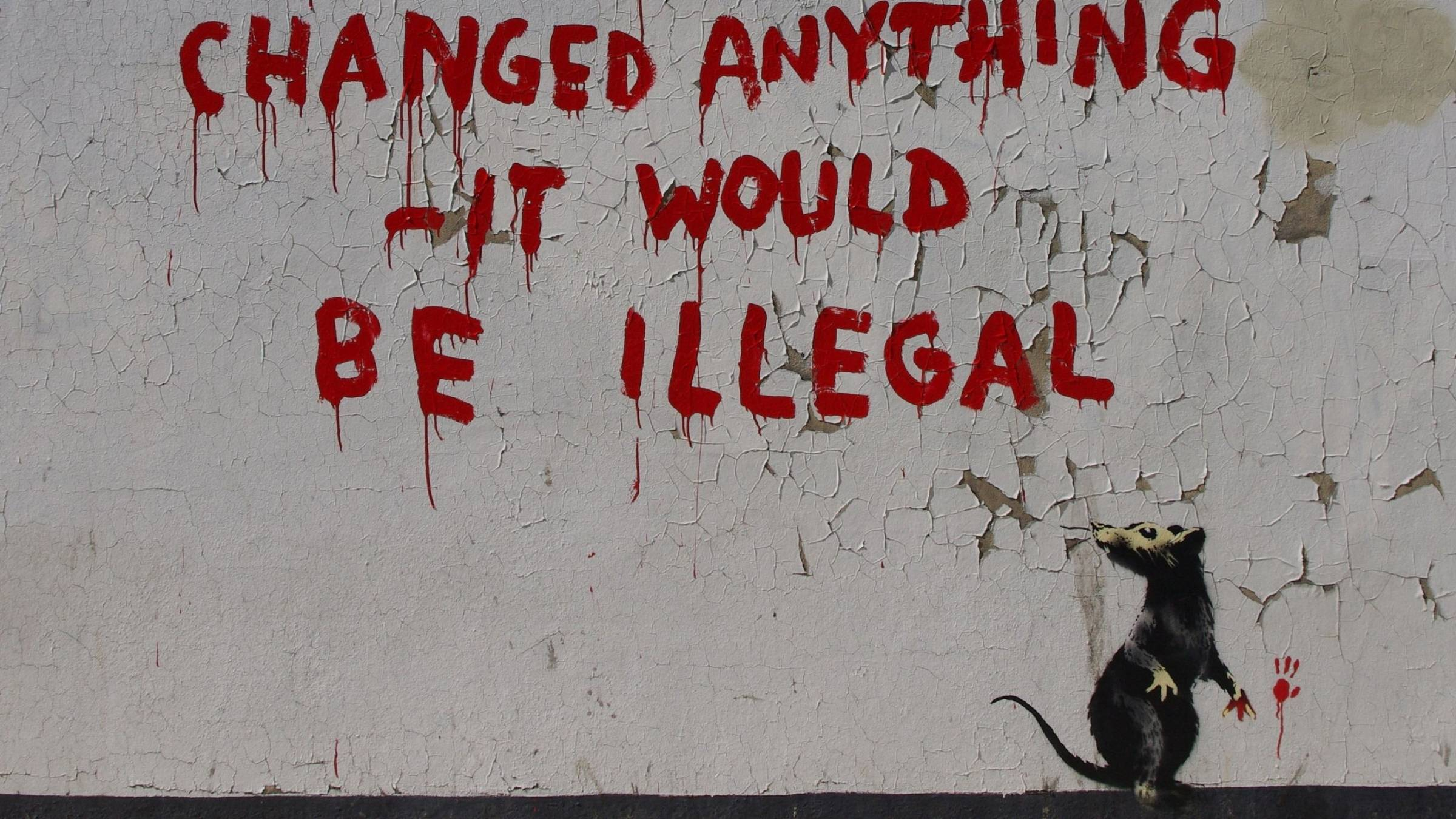 Create Quotes Wallpaper Online Banksy Hd Wallpapers Wallpaper Cave