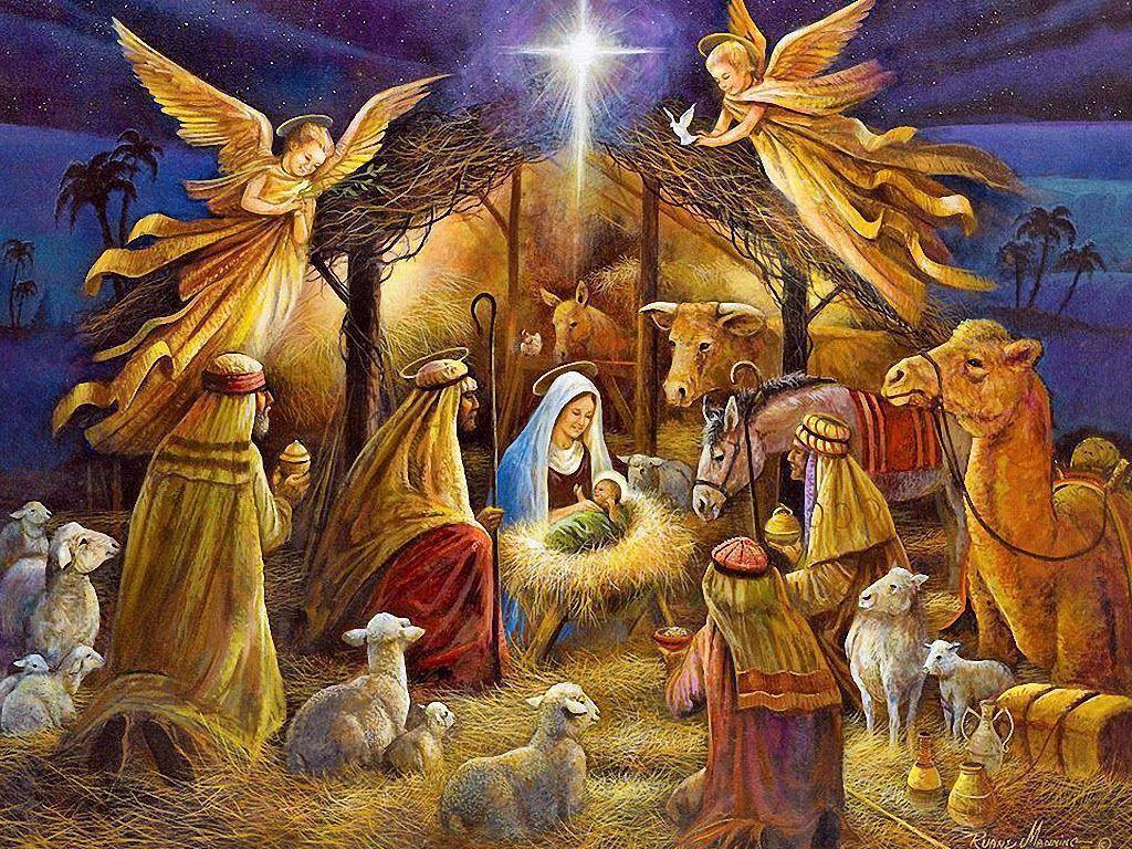 free jesus christ christmas wallpapers and christmas