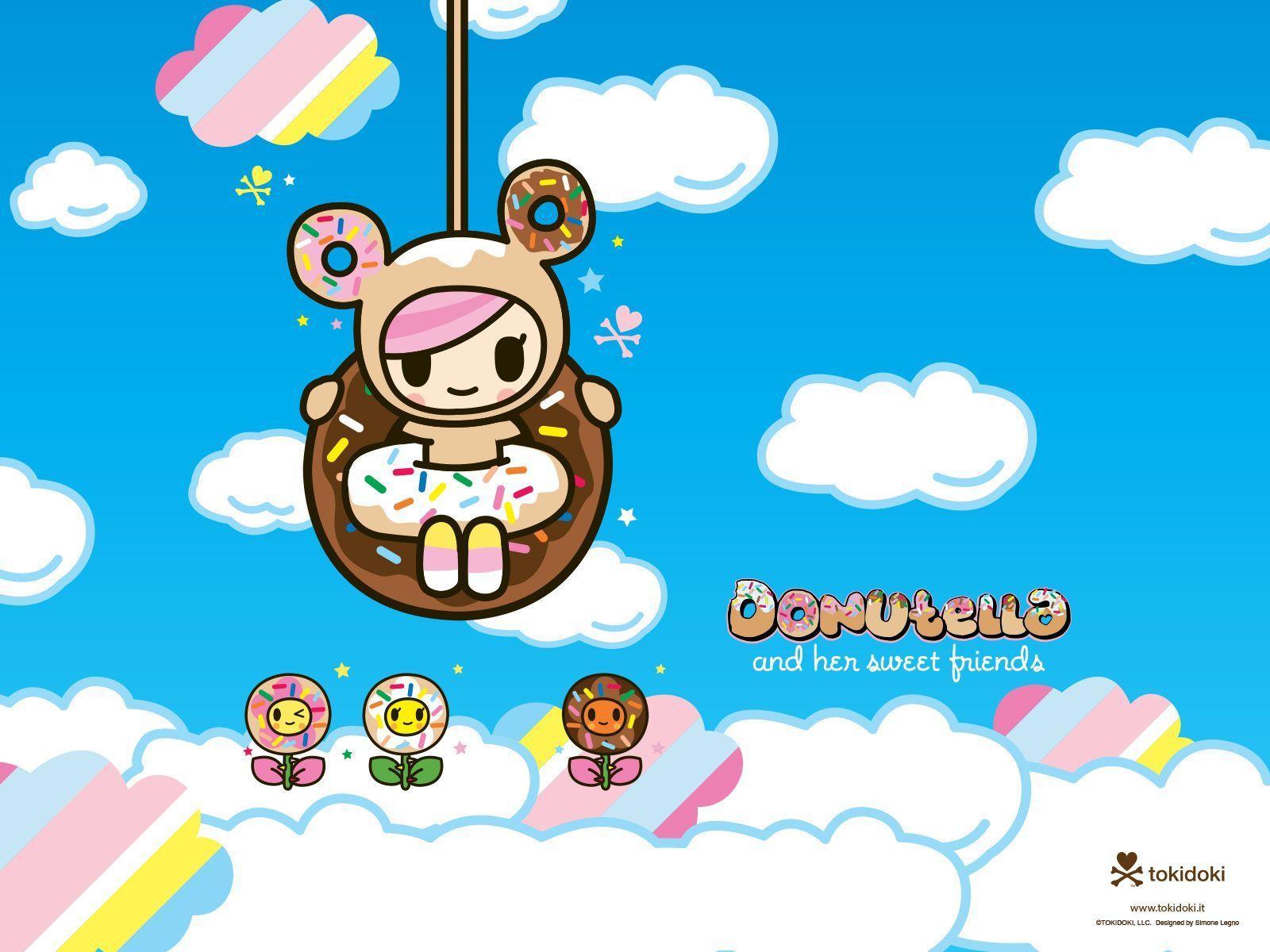 Cute Hello Kitty Wallpaper Android Tokidoki Desktop Wallpapers Wallpaper Cave