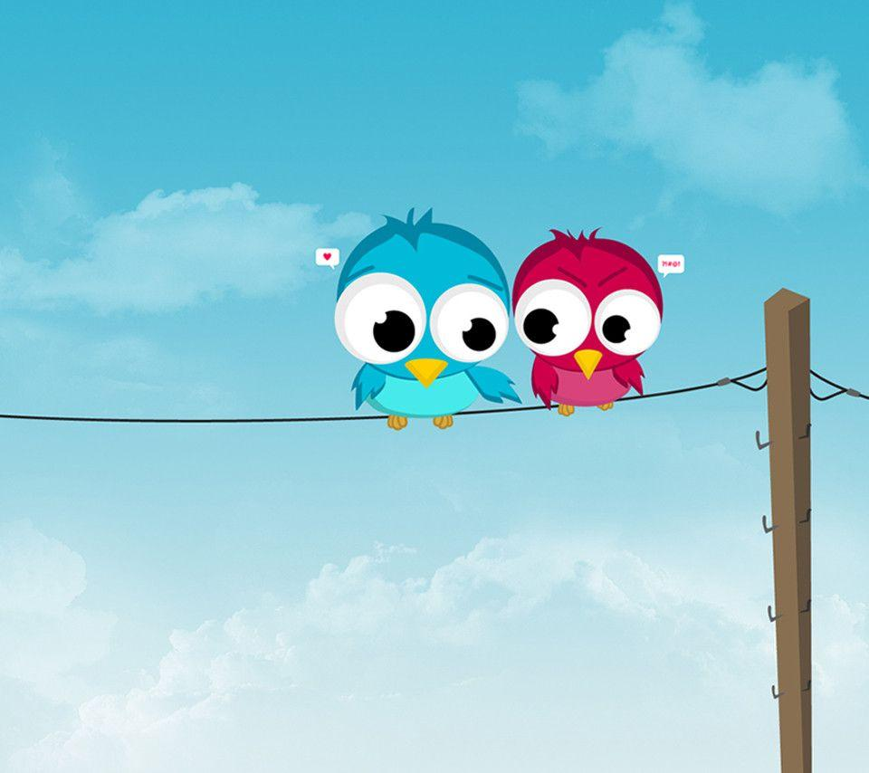 Cute Cartoon Couple Hd Wallpapers Cute Colorful Wallpapers Wallpaper Cave