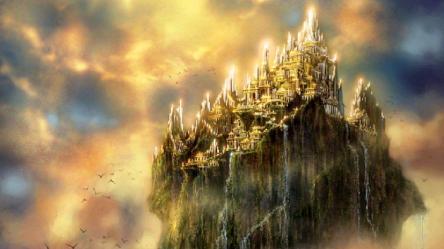 castle fantasy wallpapers castles hd mythology olympus desktop mount cave percy jackson