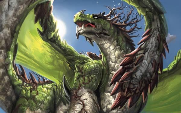 Green Dragon Wallpapers - Wallpaper Cave