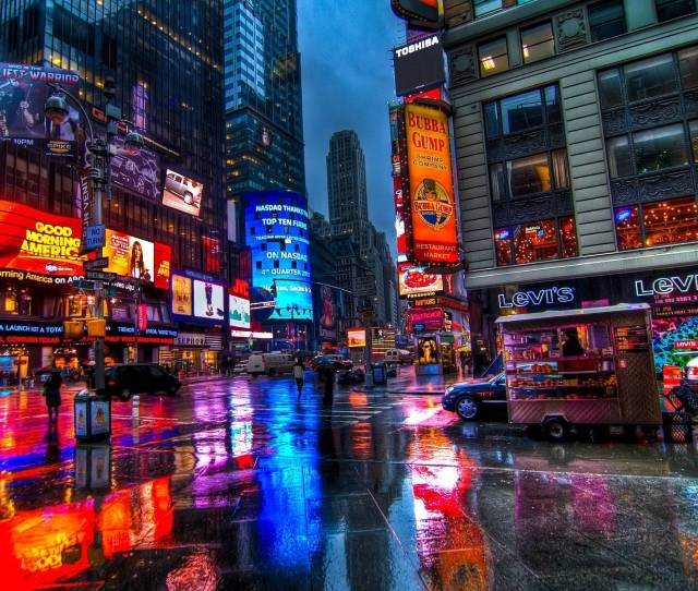 Time Square Wallpapers Full Hd Wallpaper Search