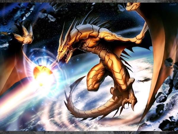 Golden Dragon Anime