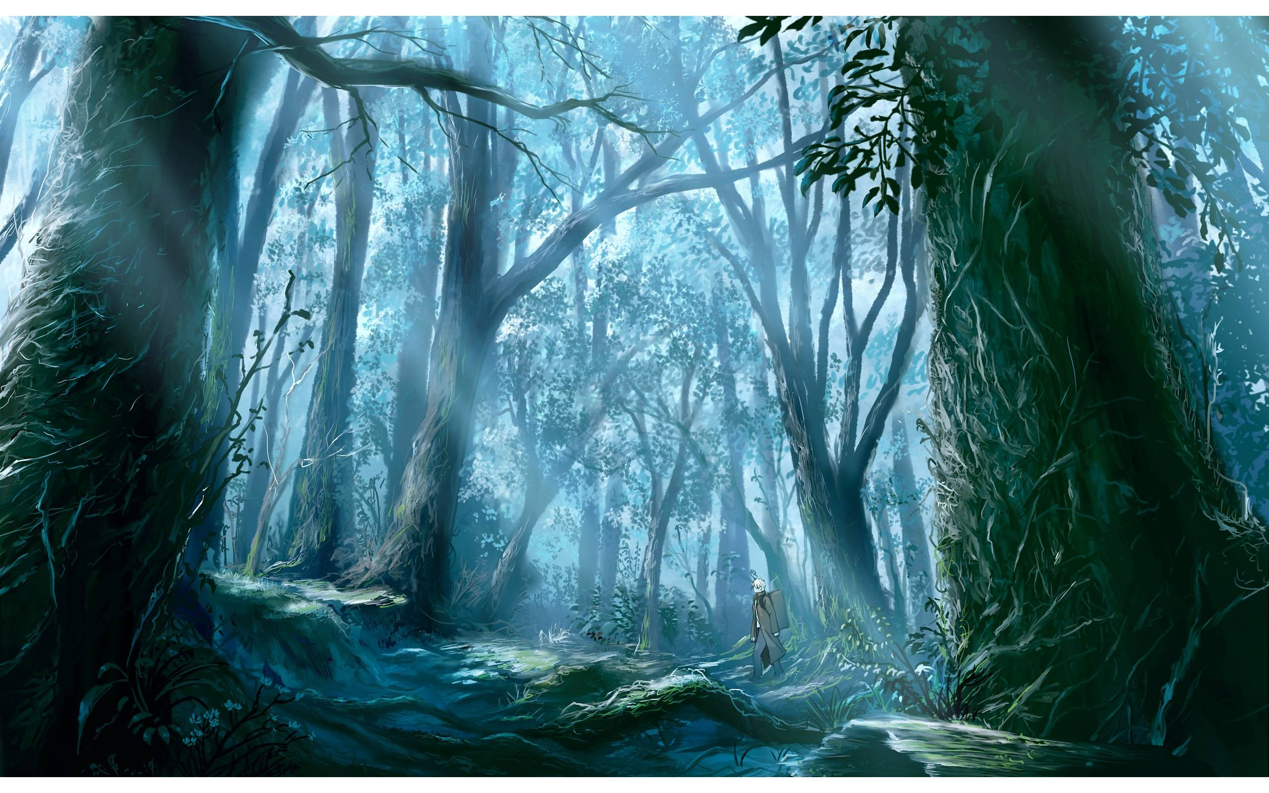 Animated Jungle Wallpaper Mushishi Wallpapers Wallpaper Cave