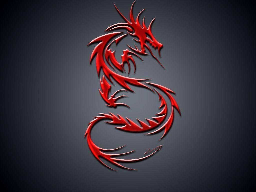 Red Dragon Logo Wallpaper