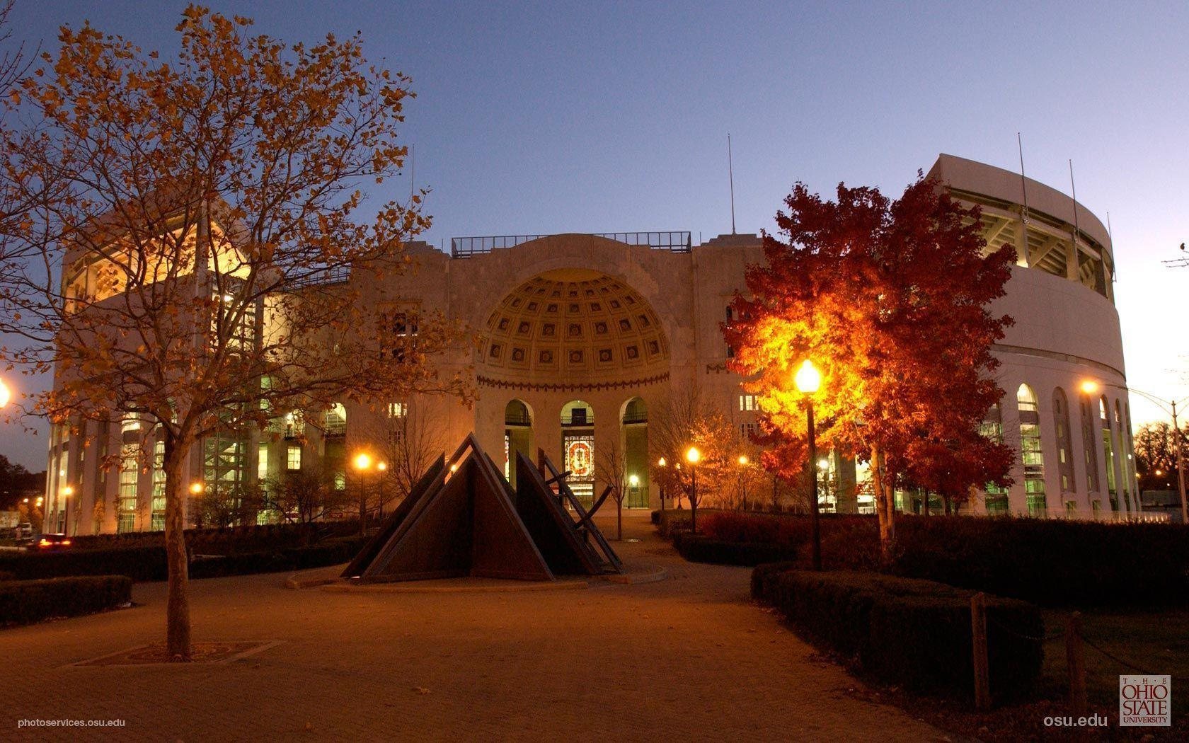 Fall Evening Wallpapers Ohio Stadium Wallpapers Wallpaper Cave