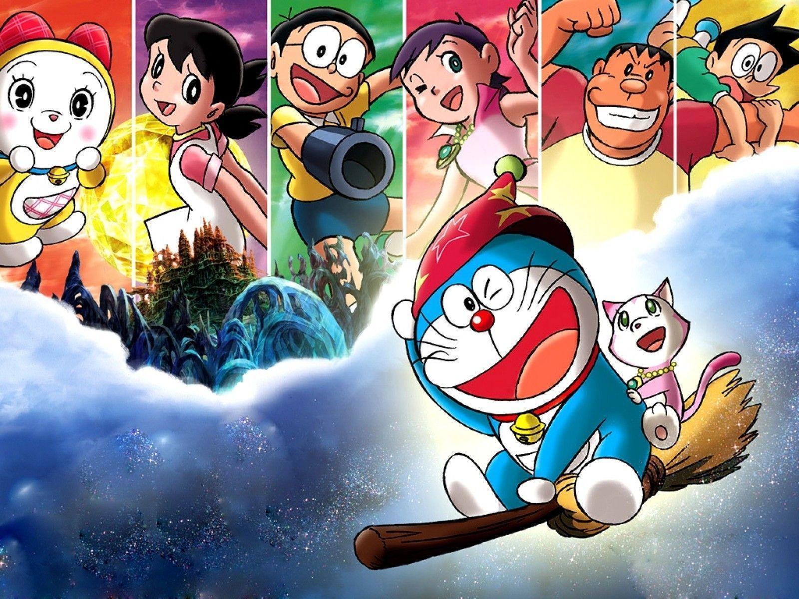 Wallpaper Hp Doraemon 3d Novocom Top