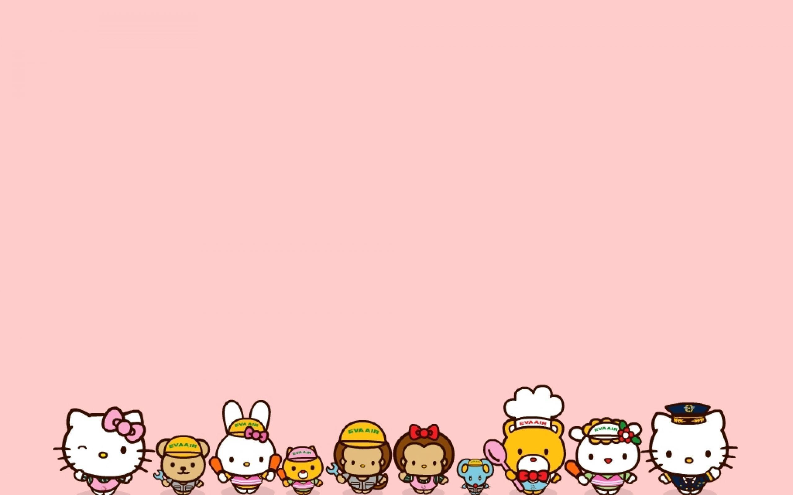 Hello Kitty Pink Cute Wallpaper Bergerak Sanrio Wallpapers 2016 Wallpaper Cave