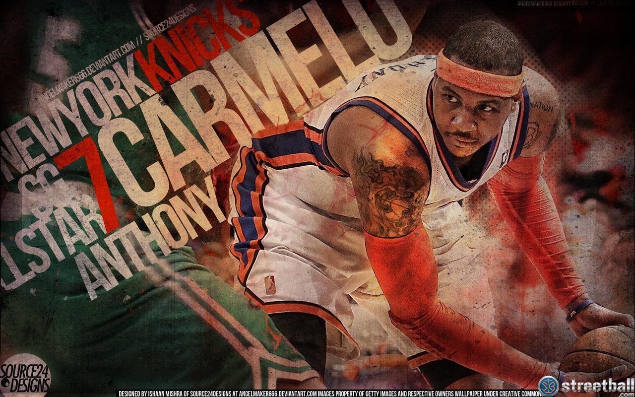 Ny Knicks Wallpaper Hd Carmelo Anthony Wallpapers 2016 Hd Wallpaper Cave