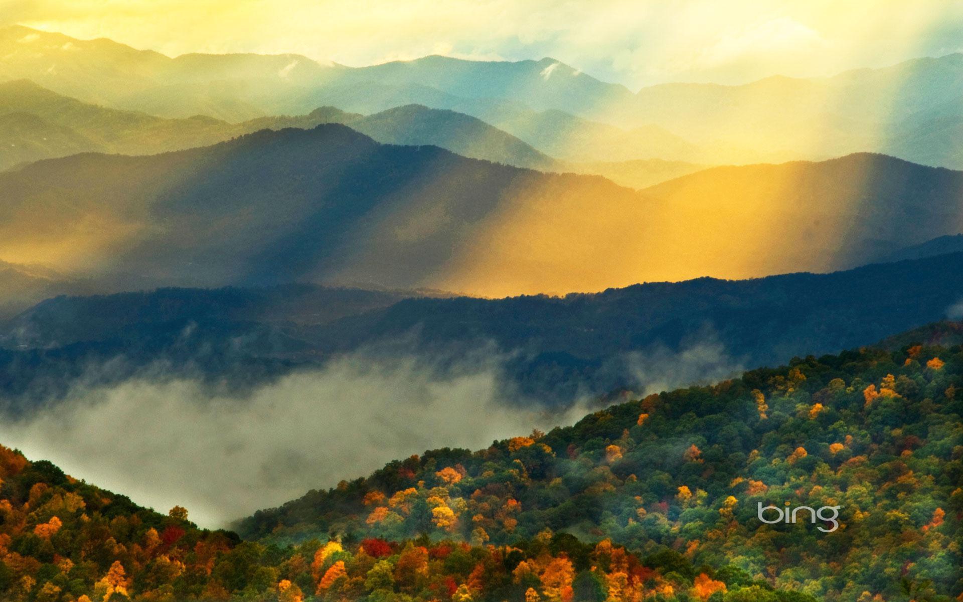 Fall Smoky Mountains Wallpaper Bing Image Wallpapers Wallpaper Cave