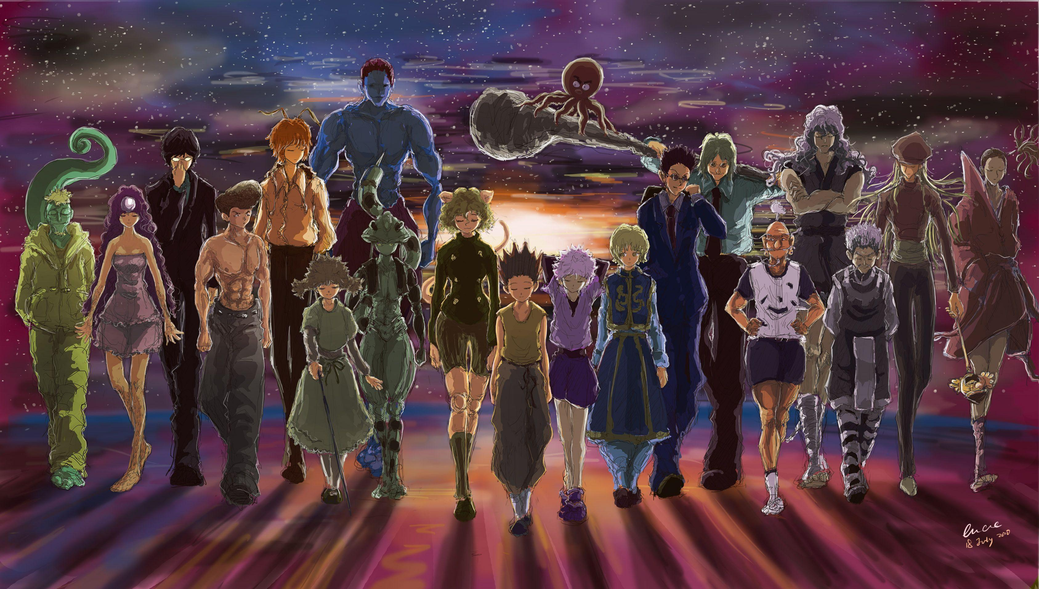 Can you pass the hunter examination within? Hunter X Hunter Wallpapers - Wallpaper Cave