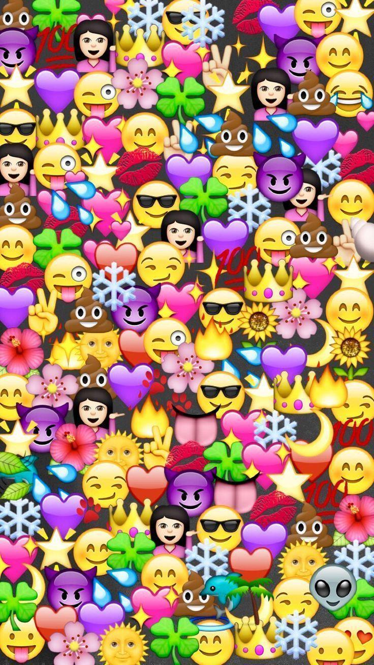 Emoji Wallpapers  Wallpaper Cave
