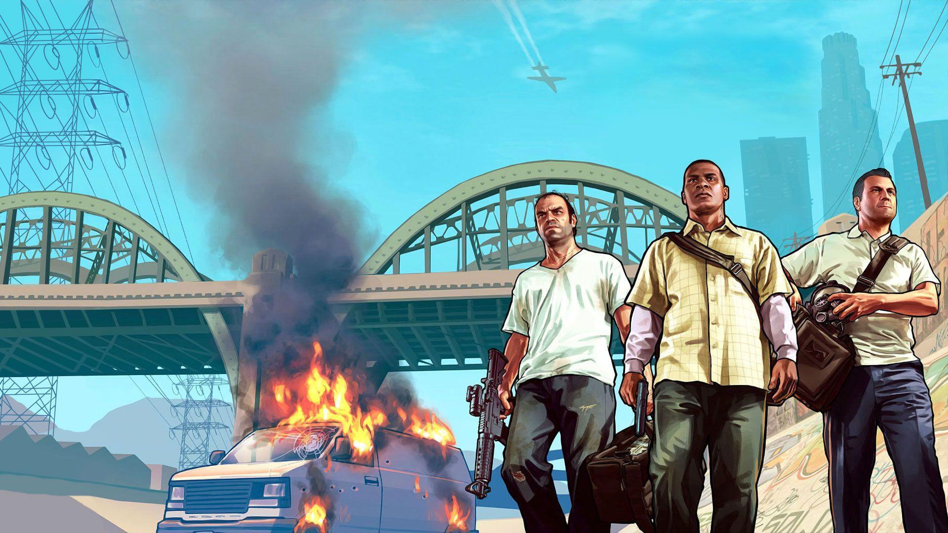 Grand Theft Auto Wallpaper Girl Grand Theft Auto V Wallpapers Wallpaper Cave