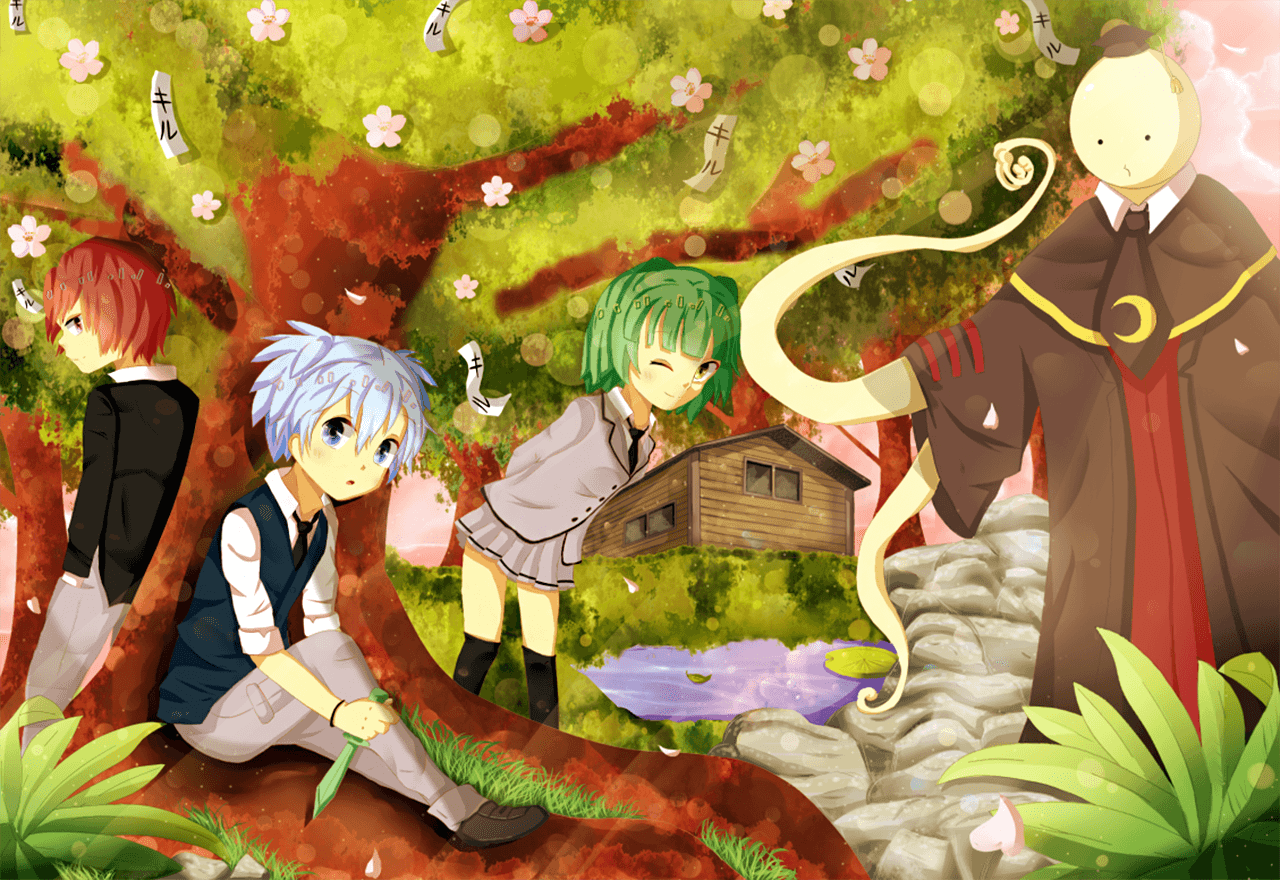 Assassination Classroom Wallpaper Hd Assassination Classroom Wallpapers Wallpaper Cave