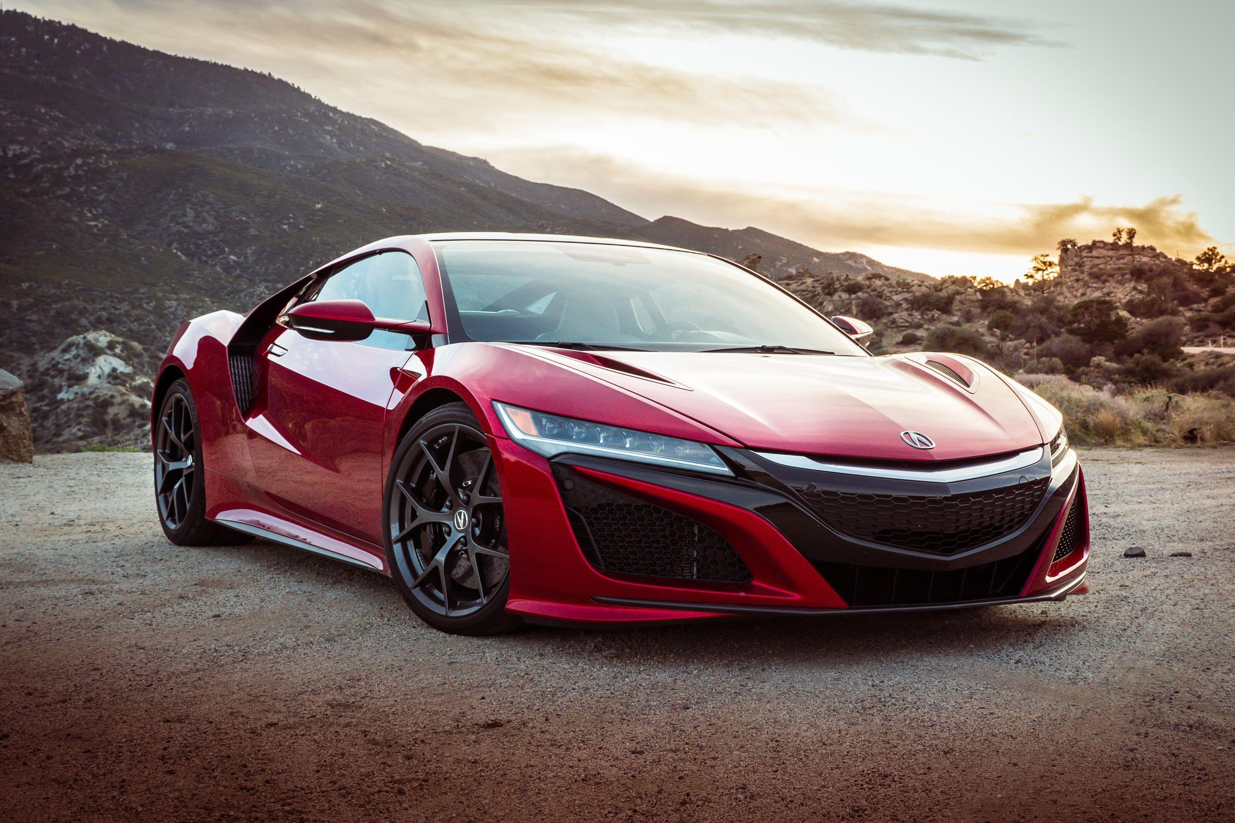 2017 Acura Nsx Wallpapers Wallpaper Cave