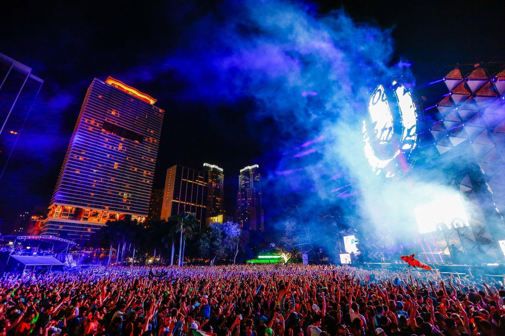 Ultra Music Festival Wallpapers Wallpaper Cave