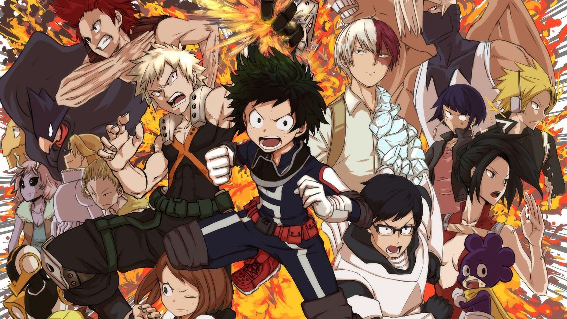 Tons of awesome my hero. My Hero Academia Wallpapers - Wallpaper Cave