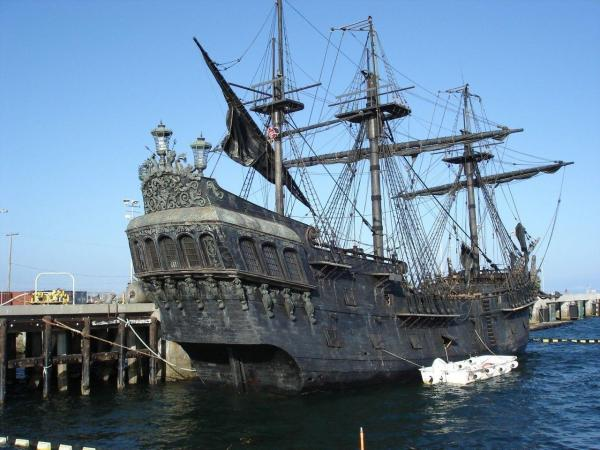 Real Pirate Ships Black Pearl