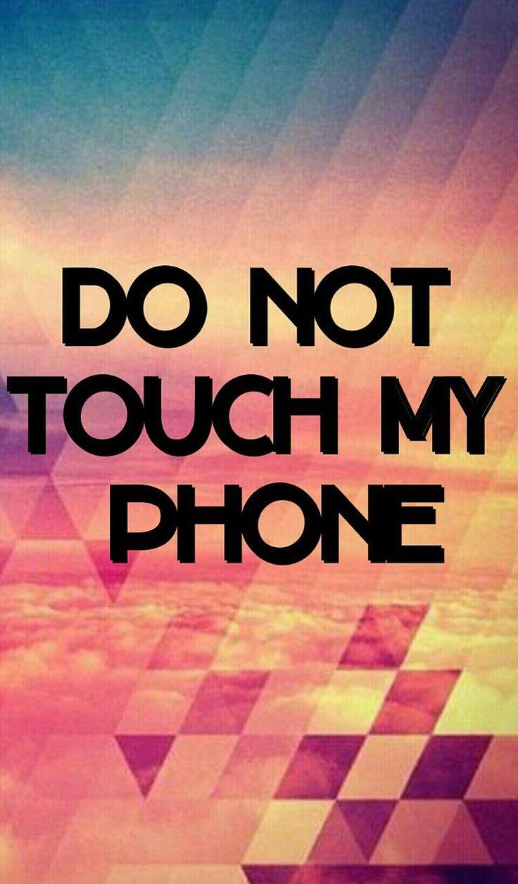 Don't touch my phone live wallpapers is a new amazing app with cool images you can use it for your lock screen or wallpaper. Anime Wallpaper Dont Touch My Phone : Don't Touch My ...