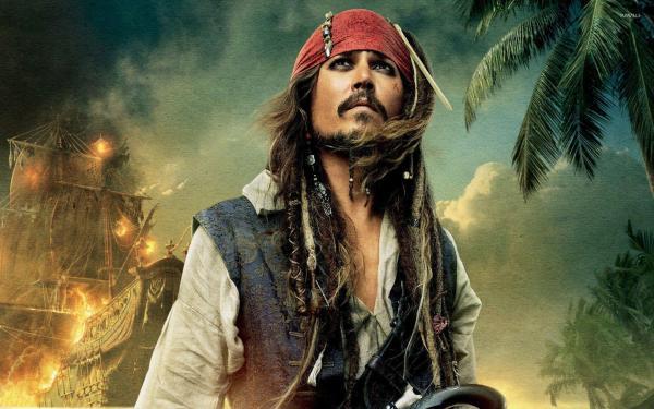 Pirates of the Caribbean Captain Jack Sparrow