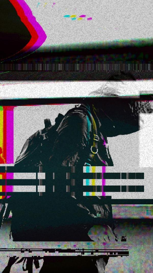 Aesthetic Glitch Iphone Wallpaper Tumblr