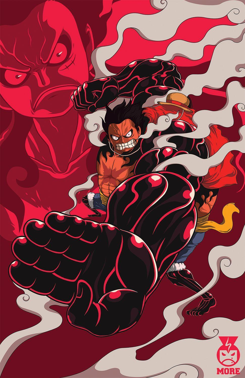 I just had to make a gear four luffy wallpaper. Luffy Gear 4 Wallpapers - Wallpaper Cave