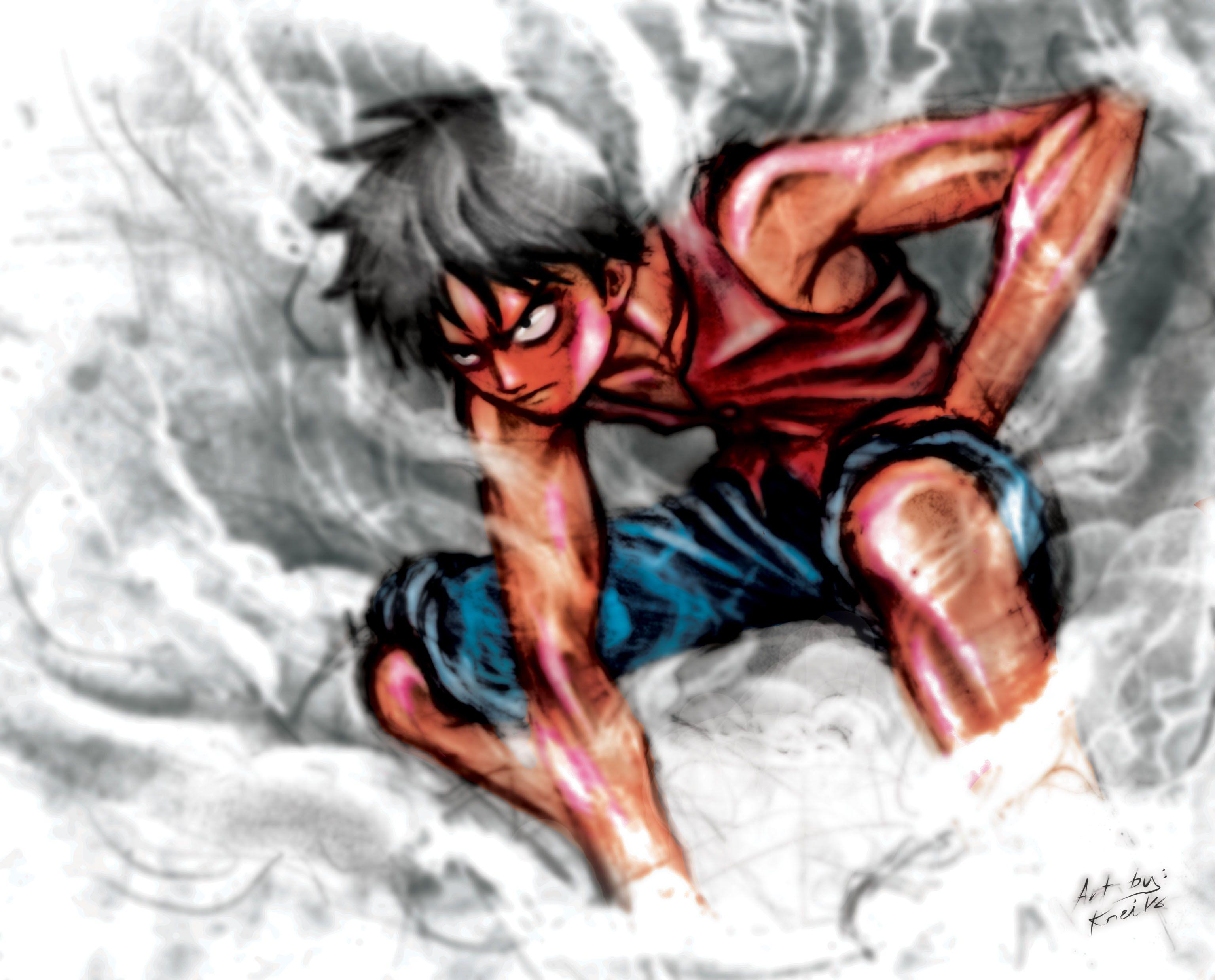Hq res inn arts wallpapers one piece luffy. Luffy Gear 4 Wallpapers - Wallpaper Cave