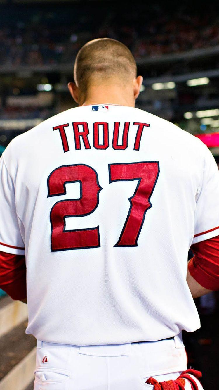 Trout Wallpaper Iphone Mike Trout Wallpapers Wallpaper Cave