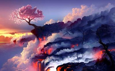 Anime Scenery Wallpapers Wallpaper Cave
