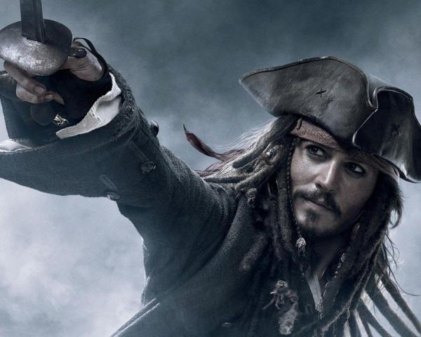 Jack Sparrow Pirates of Caribbean at World's End