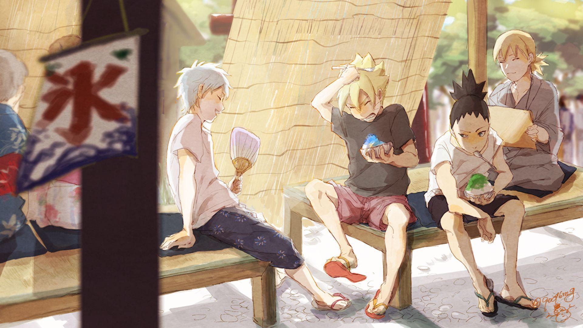 Naruto Team 7 Wallpaper Cute Shikadai Nara Naruto Wallpapers Wallpaper Cave