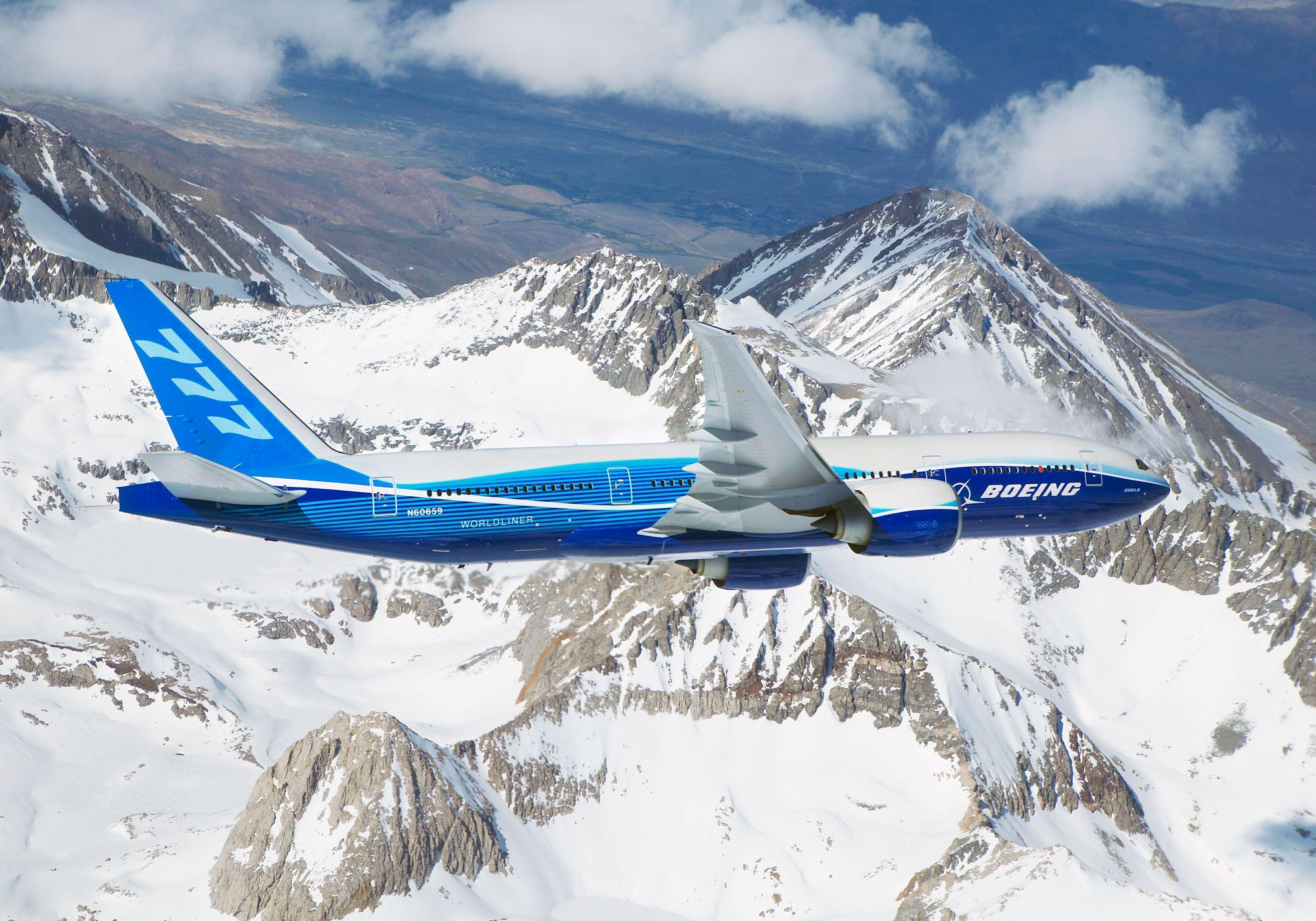 Airplane Boeing 777x Wallpapers