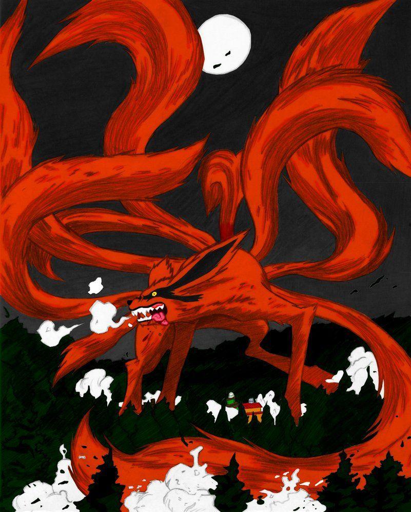 Nine Tails Wallpaper : tails, wallpaper, Tailed, Wallpapers, Wallpaper