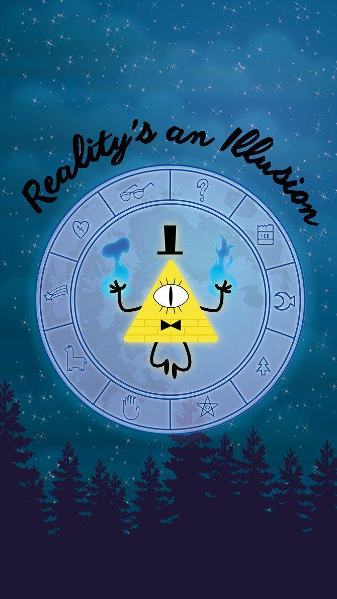 Gravity Falls Wallpaper Bill Bill Cipher Wallpapers Wallpaper Cave