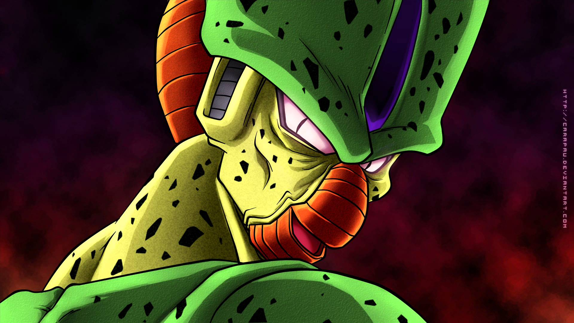 perfect cell wallpapers wallpaper