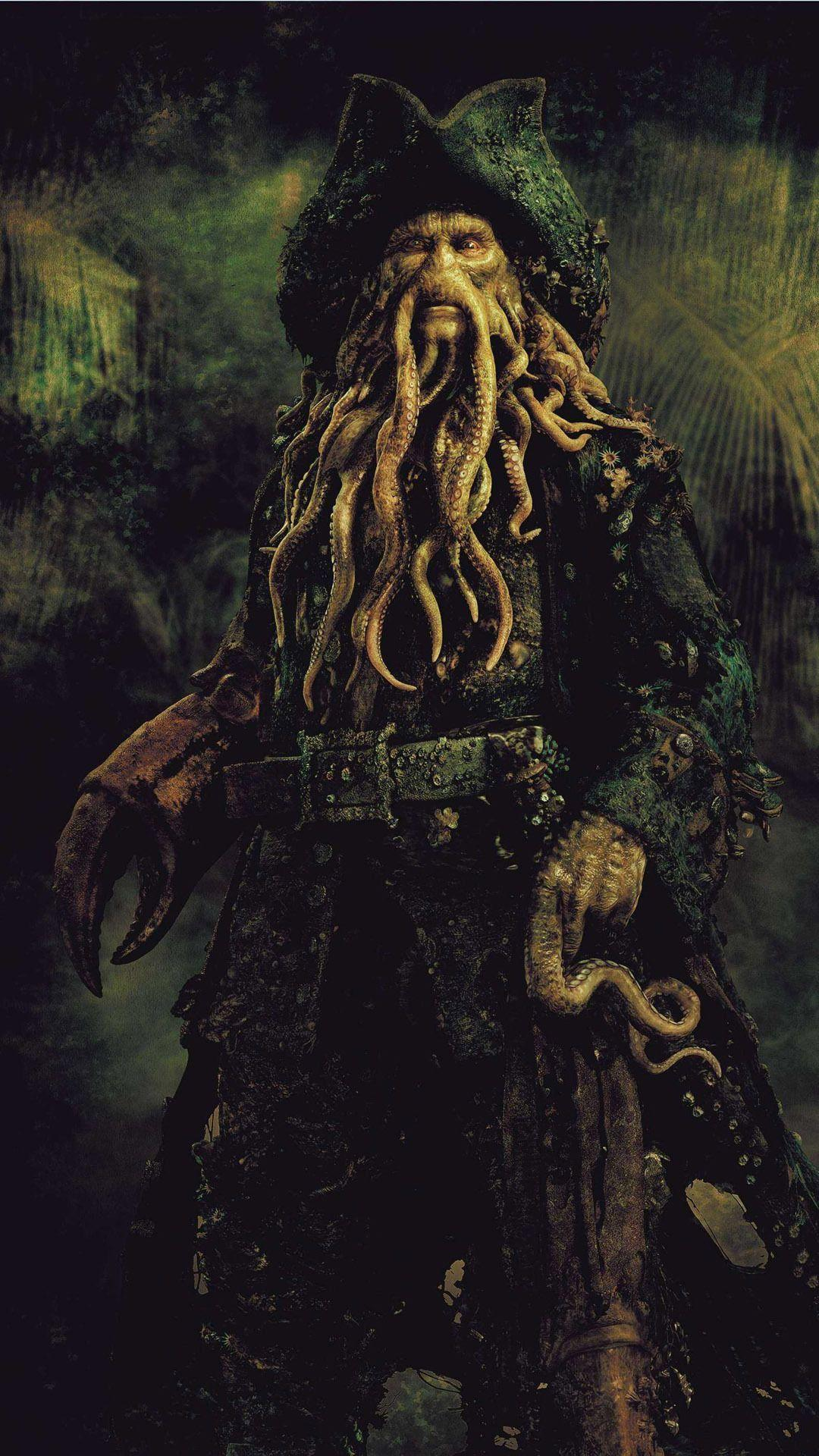 Davy Jones Pirates Des Caraibes : jones, pirates, caraibes, Jones, Wallpapers, Wallpaper