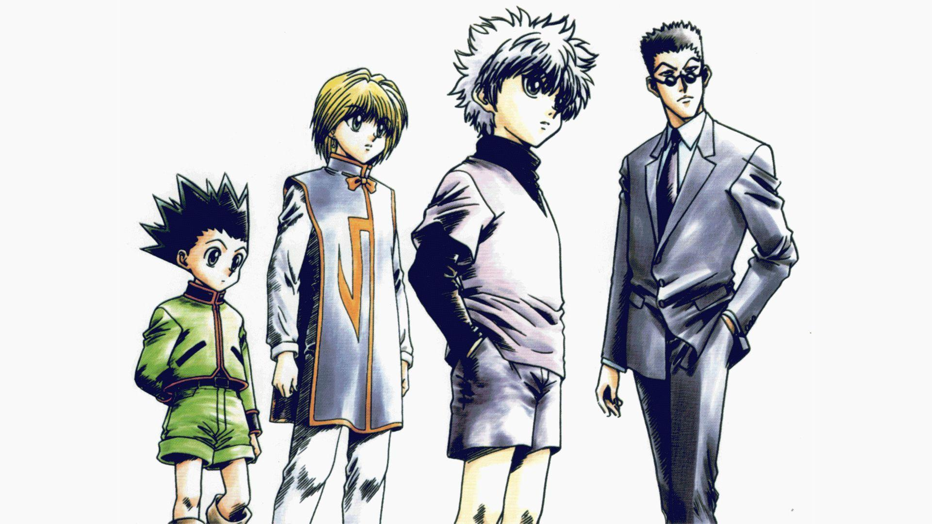 I'd also like to inform you that these wallpapers were made to fit the phone of the person who requested me to do the background (in this case the phone of. Hunter × Hunter HD Wallpapers - Wallpaper Cave