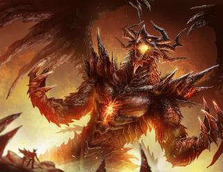 High Resolution Fire Dragon Wallpaper