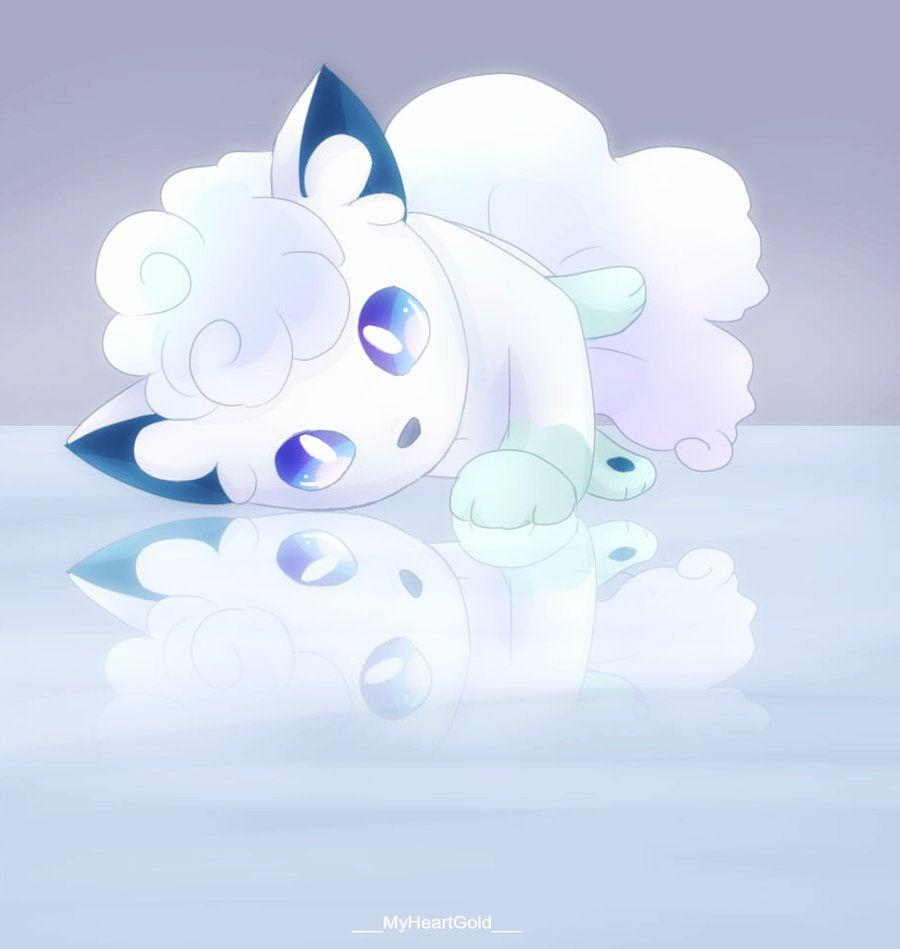 Cute Vulpix Wallpapers Alolan Vulpix Wallpapers Wallpaper Cave