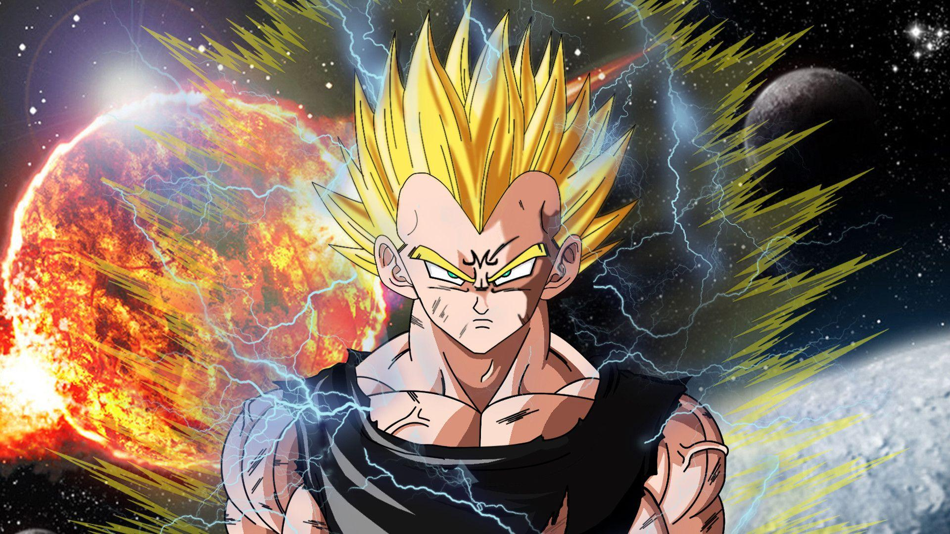 goku vegeta wallpapers wallpaper