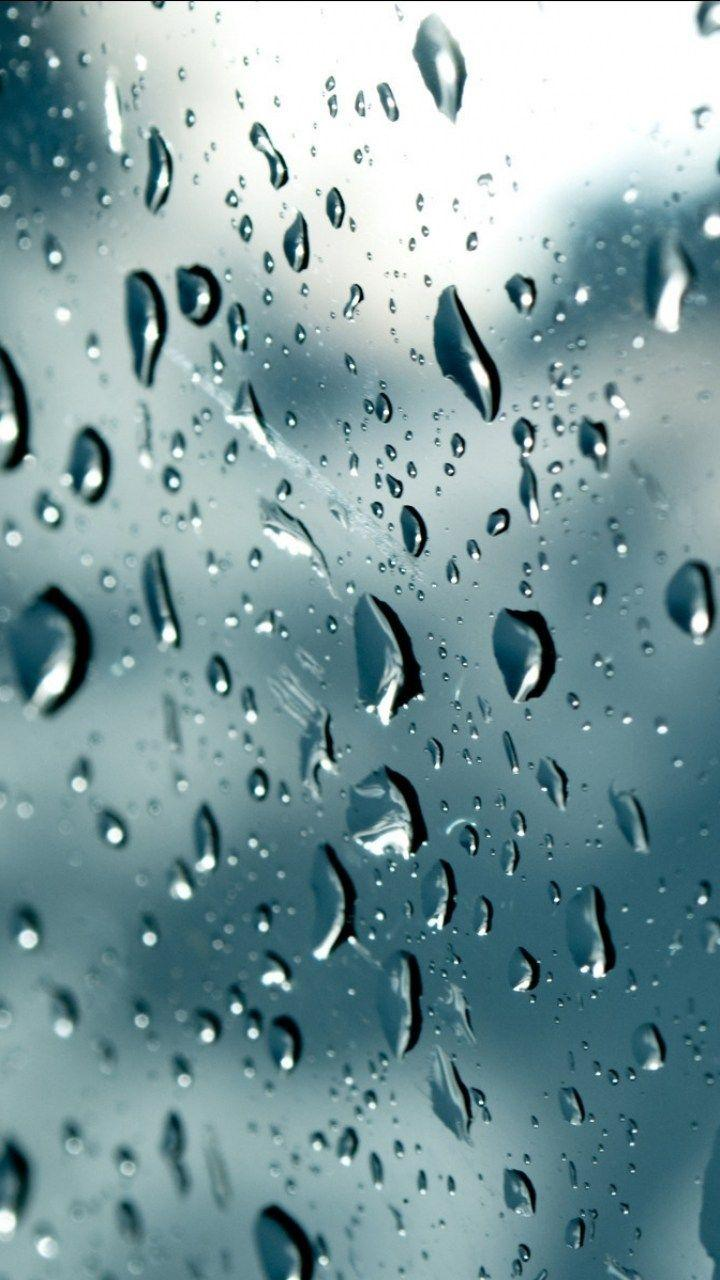 Raindrops Falling From The Sky Wallpaper Rain Drop Wallpapers Wallpaper Cave