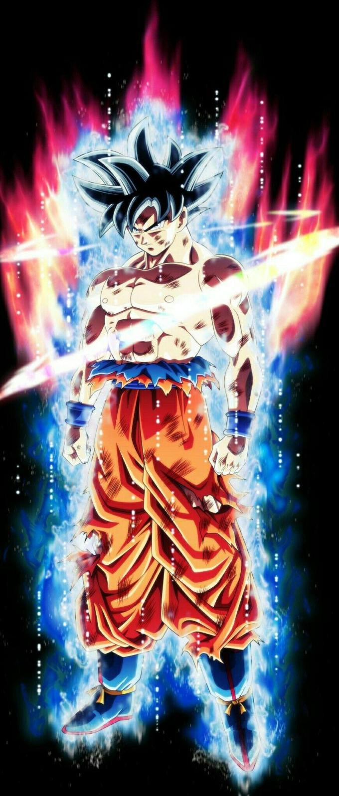 live wallpaper iphone xs goku
