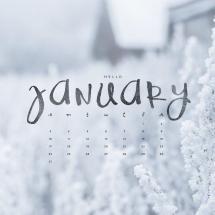 January 2018 Calendar Wallpapers - Wallpaper Cave