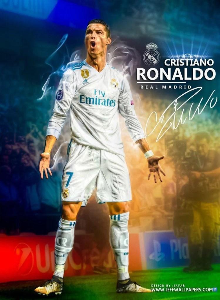 Cristiano Ronaldo Real Madrid 2018 Wallpapers - Wallpaper Cave