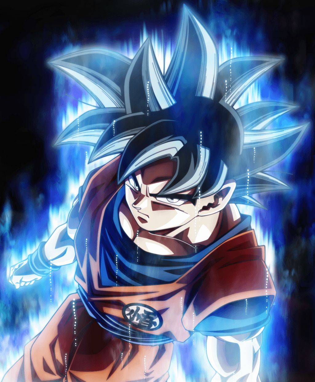 Goku Ultra Instinct Mastered Wallpapers  Wallpaper Cave