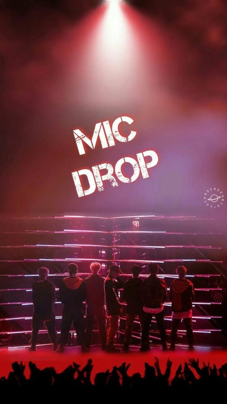 mic drop bts wallpapers